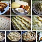 пирог с сыром Улитка фото