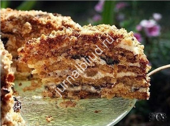 Торт Белочка фото