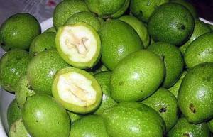 Лекарство из зеленых грецких орехов фото