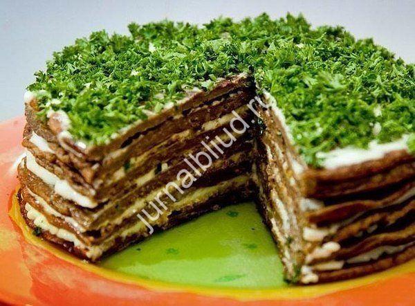 Печеночный торт фото