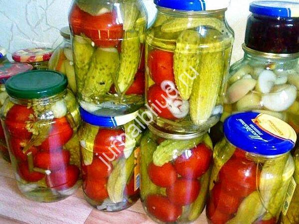 Маринад для овощного ассорти
