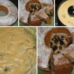 Йогуртовый кекс с черносливом