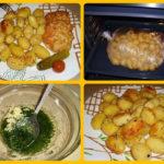 Картофель к новогоднему столу - быстро, вкусно, красиво! и посуду мыть не надо!)