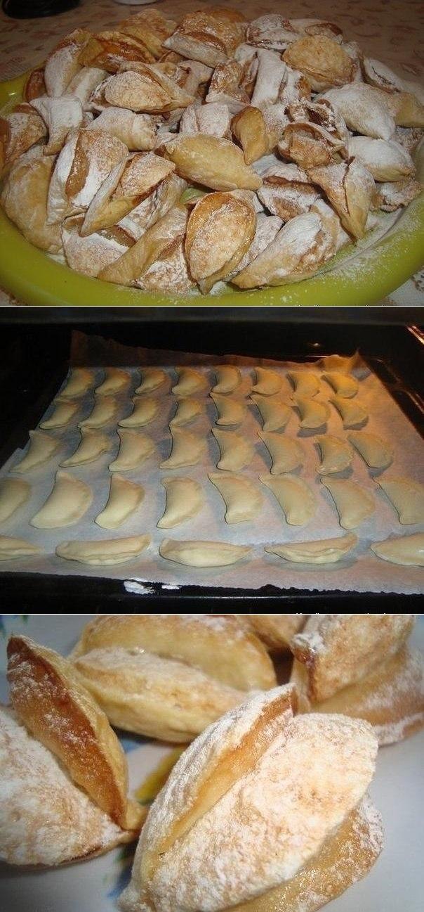 Воздушные пирожные Мидии