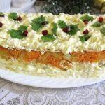 Торт-салат Праздничный — ЛЕГКОЕ УДОВОЛЬСТВИЕ! Такой нежный, воздушный, легкий... Самый любимый у нас.
