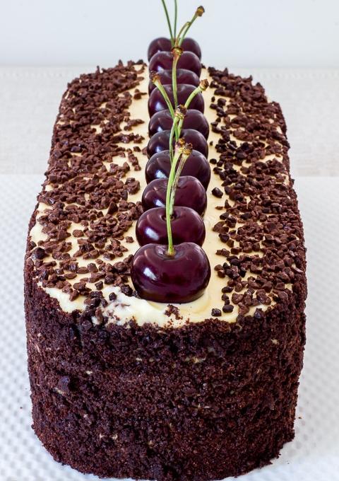 Немецкий Шоколадный Торт с Вишнями Черный Лес без Глютена