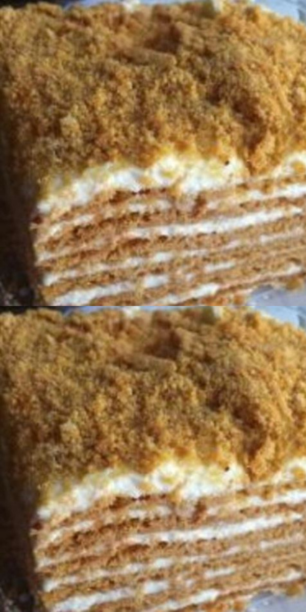 Сметанник — самый хитовый домашний торт.Готовить просто и съедите быстро.