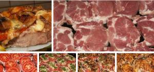 Мясо по-московски  фото