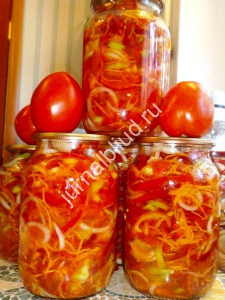 помидоры по — корейски