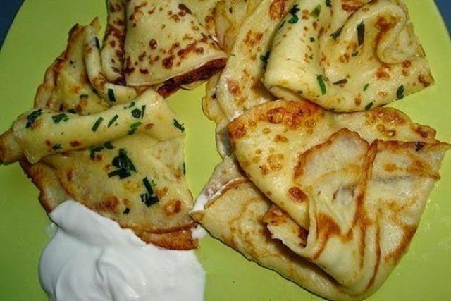 Вкусные тонкие картофельные блины