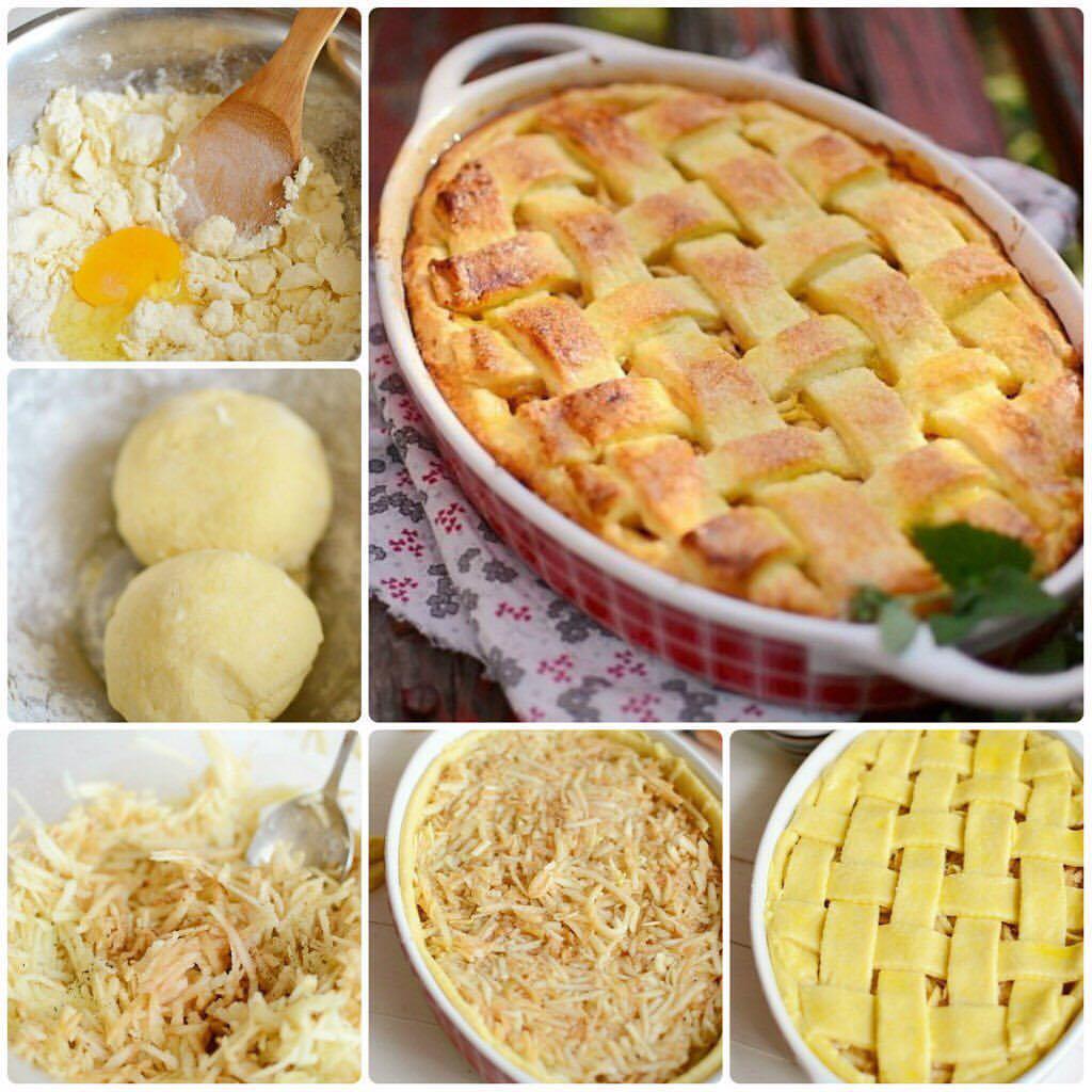 Яблочный именинный пирог Нежный, ароматный – просто прелесть!
