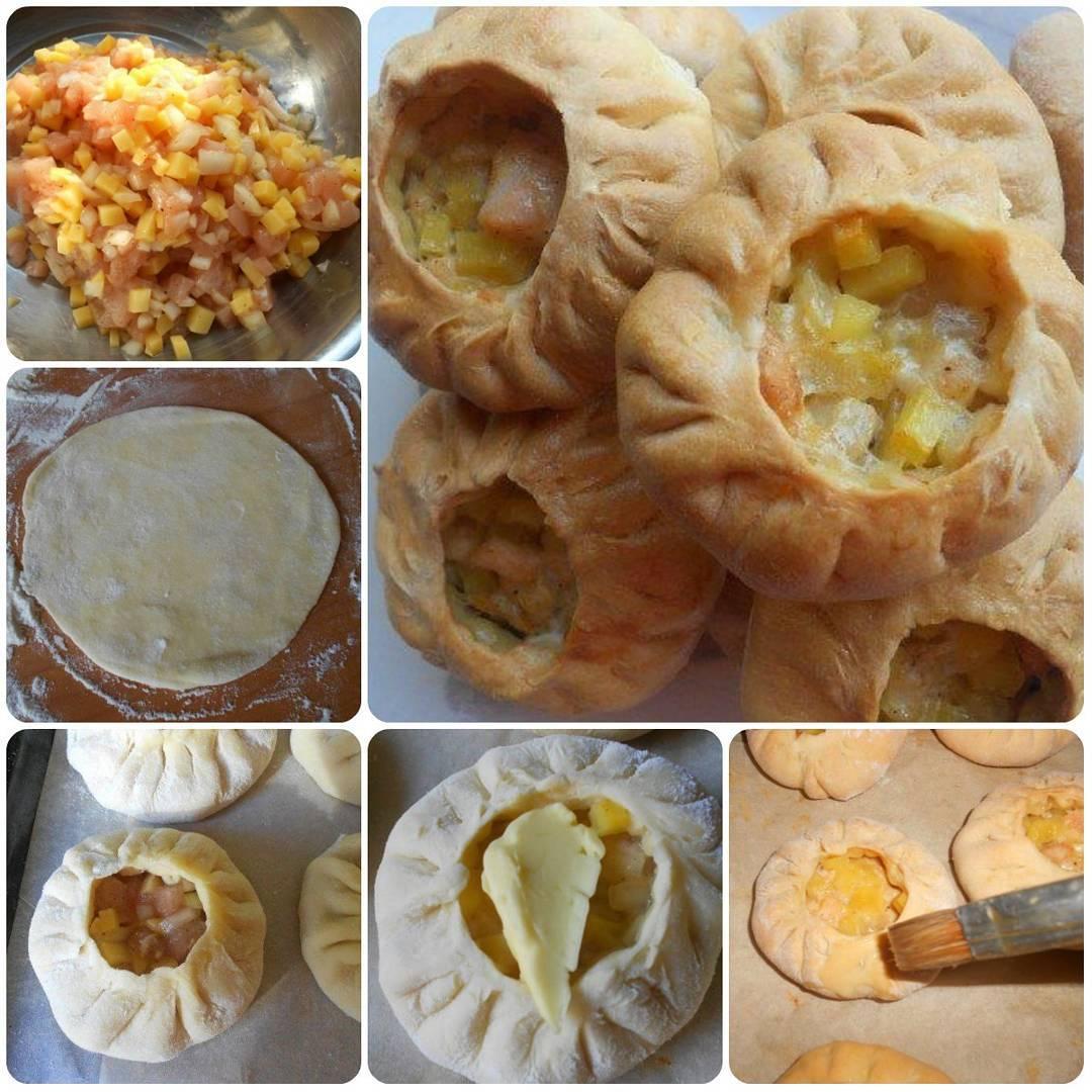 Татарские пирожки из разряда «легко, просто и вкусно».