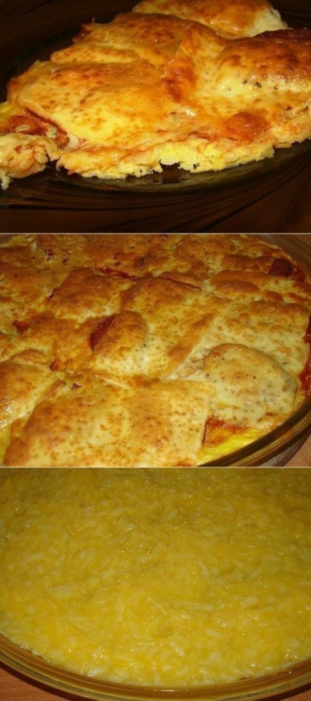 Картофельная….почти пицца. Уже не первый раз делаю, моим очень нравится. Нежная - нежная получается!