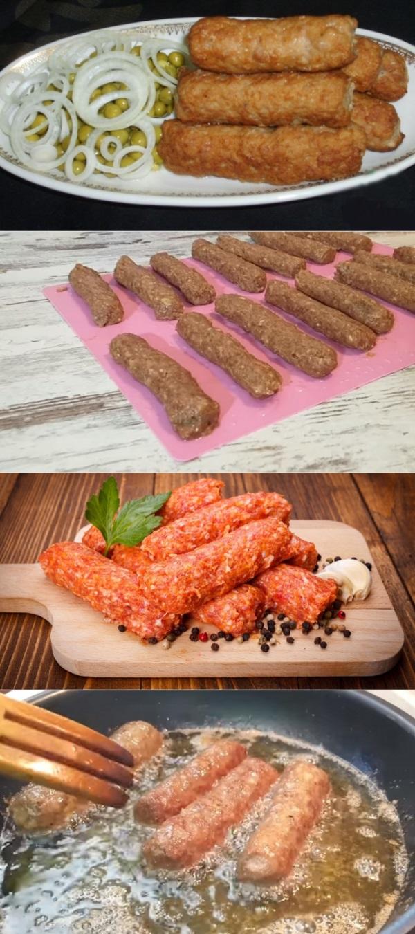 Мититеи: ленивые молдавские колбаски без оболочки не берусь готовить без минеральной воды. Маленькие колбаски, обжаренные на гриле или на сковороде.