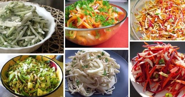 Ешь и худей! Лучшие рецепты салатов для похудения 1