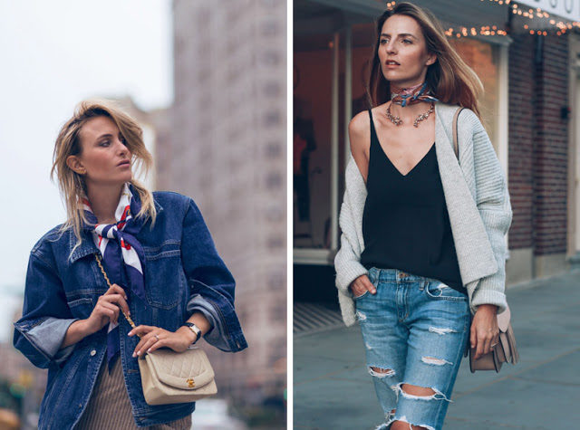 23-casual-outfits-with-silk-scarf-bandana