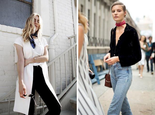 26-minimalist-outfits-with-silk-scarf-bandana