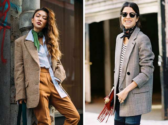 28-work-outfits-with-silk-scarf-bandana