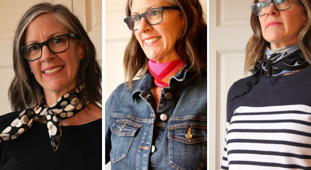 30-middle-aged-woman-outfits-with-silk-scarf-bandana
