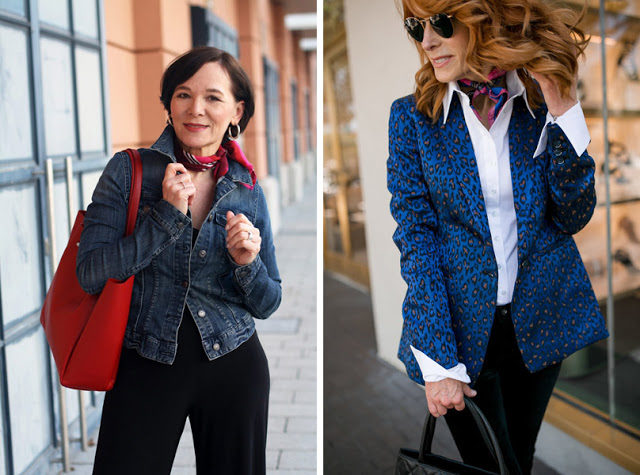 32-middle-aged-woman-outfits-with-silk-scarf-bandana
