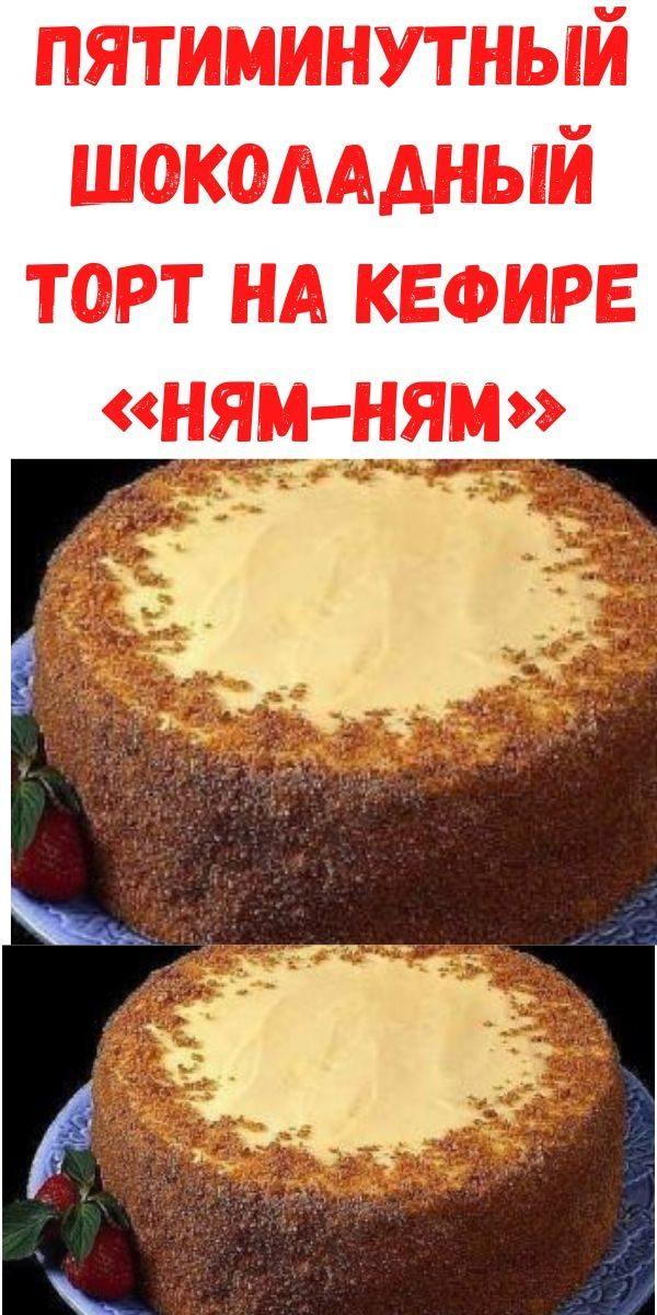 pyatiminutnyy-shokoladnyy-tort-na-kefire-nyam-nyam