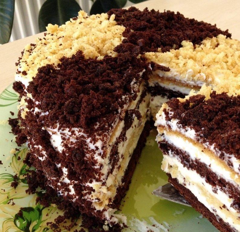 smetannii-tortik
